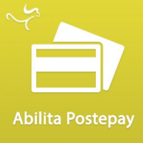 Modulo pagamento italiano: Postepay